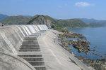 The spillway of Plover Cove Reservoir 船灣淡水湖.