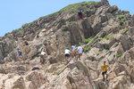 Climbing up Po Pin Chau