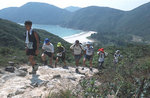 On the way up Sai Wan Shan. Special thanks to Karl Lung who took this photo for us.