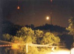 """The moon was rising, taken at CP6.  """" The moon is hanging high, with the lonely stars behind."""""""