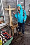 登富士山的紀念品