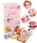 B1020-木製草莓冰箱套裝.門市售$880批發價$400.尺寸: 高46.5x寬27x深26.3cm