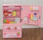B1113-木製全草莓冰箱套裝.門市售$990批發價$420.
