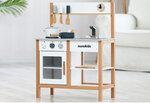 M134 - 木製北歐櫸木白色廚房<br>.<br>門市售$1100 <br> 批發價$480 <br><br>(本月訂購 Free 厨具)<br>.<br>