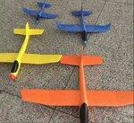 E523-手抛回旋滑翔機48cm(不可選色) . $40 (一款)  $110 (四款).