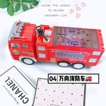 E564 - 4D閃燈電動自轉消防車<br>.<br> $60<br>.<br>