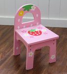 F8020 - 木製草莓背椅子<br>.<br>門市售$250<br> 批發價$120<br>.<br>