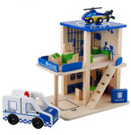 F8057 - 木製警察局拆裝房子套裝<br>.<br>門市售$450<br>批發價$180<br>.<br>