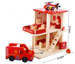 F8058 - 木製消防局拆裝房子套裝<br>.<br>門市售$450<br>批發價$180<br>.<br>