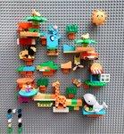 創意積木牆<br>.<br>小孩最好的禮物<br>.<br>發揮想像力 .有助小朋友腦部發展 <br>.<br>