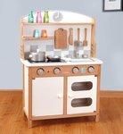 A137 - 木製歐式櫸木廚房<br>.<br>加強版 - 有聲音,有燈光<br>.<br>門市售$950<br>批發價$540<br><br>(本月訂購 Free 厨具)<br><br>