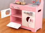 A138 - 木製洗衣機焗爐粉紅色廚房<br>.<br>加強版 - 有聲音,有燈光<br>.<br>門市售$950<br>批發價$540 <br><br>(本月訂購 Free 厨具)<br><br>