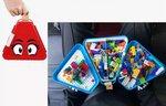 E587 - Toybox收納盒玩具箱 <br>.<br> $95<br>.<br>紅色 / 藍色 / 粉紅色 <br> (加 $25重可以多300粒積木)<br>.<br>