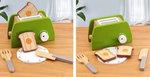 A186 - 木製環保綠面包機<br>.<br>門市售$210<br>批發價$95<br>.<br>