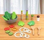 A188 - 木製環保綠沙律餐<br>.<br>門市售$210<br>批發價$95<br>.<br>