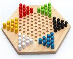A59 - 木製實木跳棋盒<br>.<br>門市售$180<br>批發價$80<br>.<br>