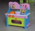 A89 - 木製綠色小廚房<br>.<br>門市售$330<br>批發價$140<br><br>(本月訂購 Free 厨具)<br><br>