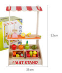 A111 - 木製特式水果店<br>.<br>門市售$450<br>批發價$198<br><br>(本月訂購 Free 食物配件)<br><br>