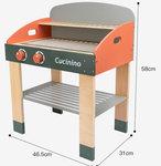 A180 - 木製大型燒烤台<br>.<br>門市售$680<br>批發價$280<br><br>(本月訂購 Free 食物配件)<br><br>