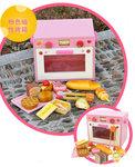 F8063 - 木製新款磁鐵麵包烤箱<br>.<br>門市售$780<br>批發價$280<br><br>(本月訂購 Free 食物配件)<br><br>