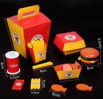 A133 - 木製披薩+漢堡+咖啡機套裝<br>.<br>門市售$550<br>批發價$250<br>.<br>
