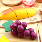 A155 - 木製經典韓式水果切套餐<br>.<br>門市售$450<br>批發價$220<br>.<br>