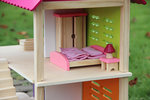 A141 - 木製粉色大组别墅套裝<br>.<br>門市售$750<br>批發價$340<br>.<br>