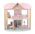 A178 - 木製粉紅色别墅<br>.<br>門市售$650<br>批發價$270<br>.<br>