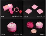 A169 - 木製粉紅色兔兔梳粧檯套裝<br>.<br>門市售$580<br>批發價$240<br>.<br>
