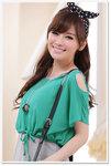 J-9111綠 - 公價$ 258 / 批發價HK$ 160 (M,XL,XXL,XXXL) (內衣+外套) (兩件套)