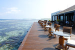 It is situated right at the edge of the rim, so you could see all the marine life from where you dine