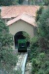 Cremallera (Rack Railway), Santa Cova funicular, Montserrat