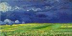 Vincent VAN GOGH  Stormy Sky Field