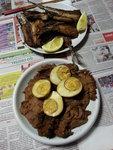 鹵水牛展,香煎秋刀魚