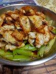 西芹魭魚片