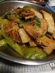 三文魚腩炆苦瓜