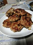 咸魚煎肉餅