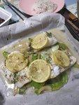 檸檬香草焗鱈魚