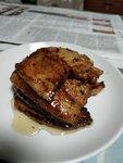 日式生薑燒豬腩片
