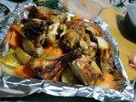 薯仔焗燒雞