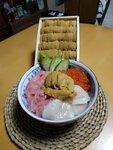 北海道海胆魚生丼