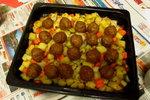 薯仔焗肉丸