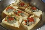 豆腐蒸魚肉