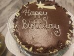 M & S的chocolate cake $168
