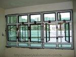 40料古銅色鋁窗