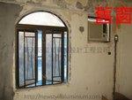 西貢白石臺 舊鋁門窗 (2)