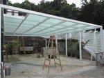 西貢菠蘿輋玻璃棚鋁窗 (1)