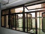 火炭世紀中心更換古銅色鋁窗工程 (1)