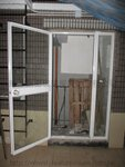 元朗加州豪園聖梵哥徑鋁門工程 (1)