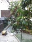 西貢南圍獨立屋玻璃欄河工程 (4)